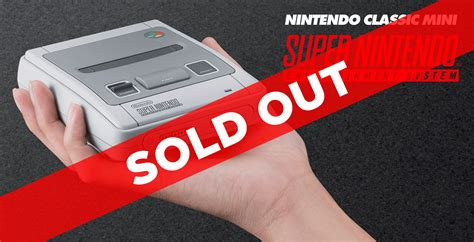 snes classic mini is sold out at eb and jb hi fi