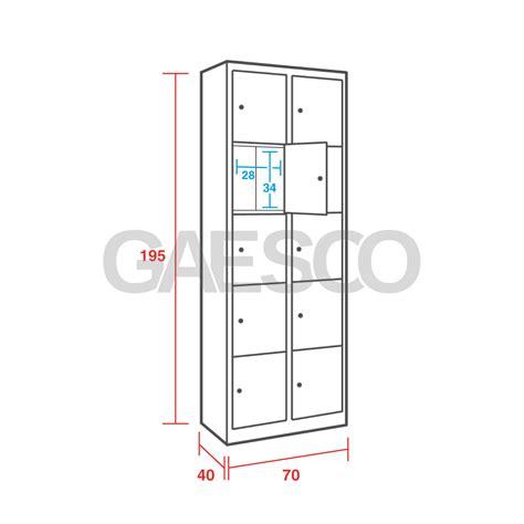 armadio casellario armadio casellario 10 posti con anta a chiave cm