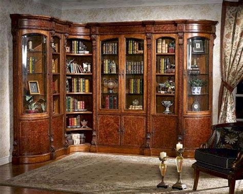 wall library infinity furniture library wall unit louis xvi inlv set3