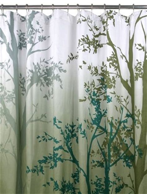 Shower Curtains With Trees Trees Shower Curtain House Ideas Pinterest