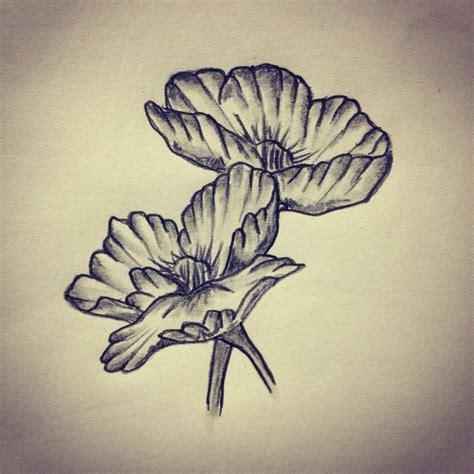 tattoo sketch photo poppy flower tattoo sketch drawing tattoo ideas by