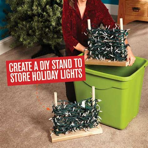 do it yourself build a stand to store lights australian handyman magazine