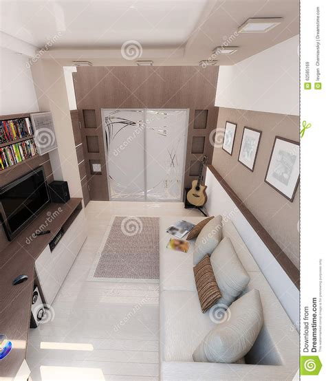 young man bedroom young man bedroom interior design render 3d stock photo image 62585169