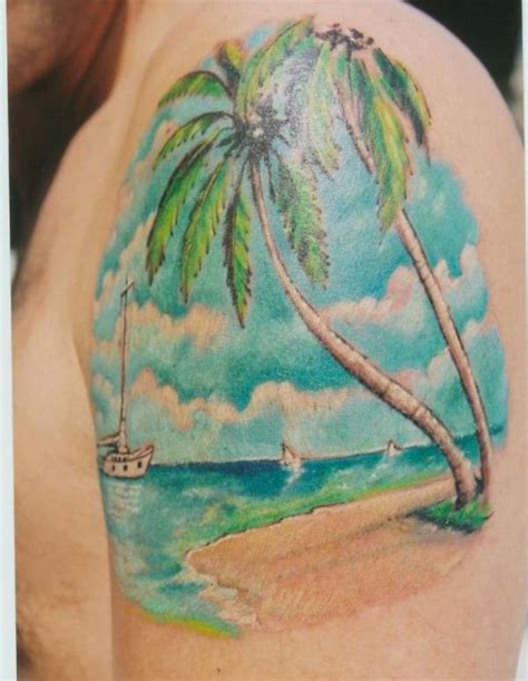 beach scene tattoo designs 30 tattoos tattoofanblog