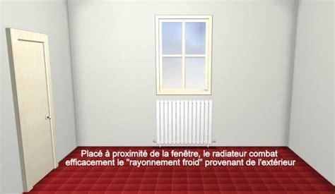 Ou Placer Un Radiateur Dans Une Chambre 4318 by Tous Sur Le Chauffage