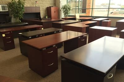 office furniture resellers  milwaukee chicago metro areas  hand desks gently