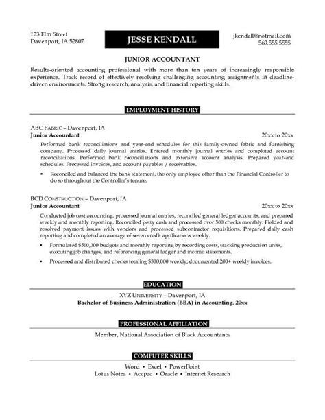 objective for accountant resume inspirational resume letter