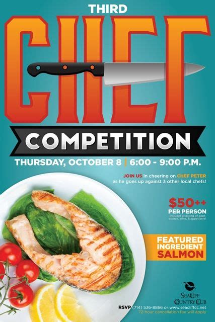 design competition flyer chef competition flyer poster design template chef