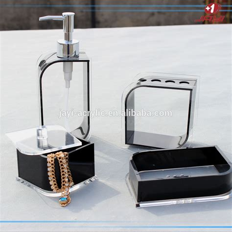 Handmade Bathroom Accessories - wholesale custom handmade hotel balfour acrylic bathroom