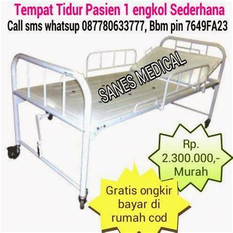 Ranjang Pasien 3 Engkol ranjang rumah sakit ranjang pasien tempat tidur pasien