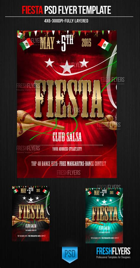 flyer design how much should i charge fiesta psd flyer template by imperialflyers on deviantart