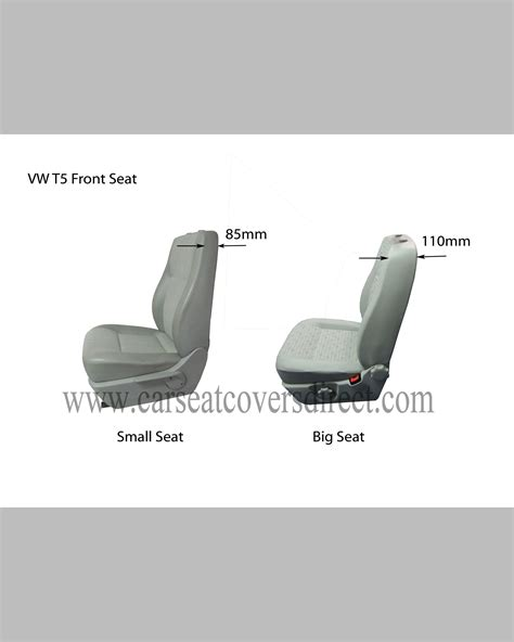 what size seats 6 vw t5 seat covers blue white car seat covers direct tailored to your choice