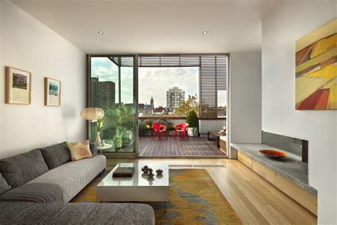 Balcony Living Room Design by