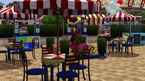 Wonderland Amusement Park Tiki S Sims 3 Corner South Park Amusement Park