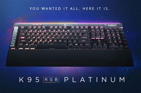 Corsair K95 Rgb Mechanical Gaming Keyboard Cherry Mx corsair k95 rgb platinum mechanical gaming keyboard