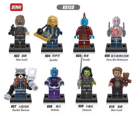 Lego Minifigure 068 Flash Xinh Minifigures Heroes Pogo downtheblocks xinh x0159 guardians of the galaxy vol 2