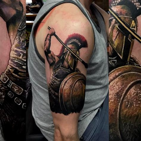 90 Legendary Spartan Tattoo Ideas Discover The Meaning Best Spartan Tattoos