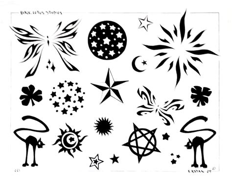 tattoo flash pages collin kasyan s tattoo portfolio flash pages