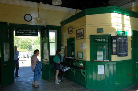 Ticket Office by File Corfe Castle Station Ticket Office Jpg
