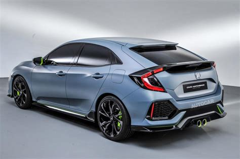 honda uk honda civic concept previews 2017 model autocar