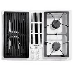 jenair cooktop jenn air jgd8130ad 30 quot gas downdraft cooktop with