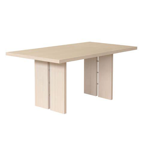tavolo rovere sbiancato tavolo da pranzo con top rovere sbiancato naturale made in