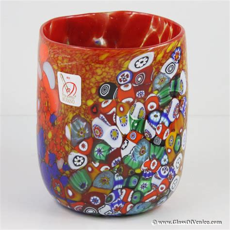 murano glass glasses tumblers and goblets