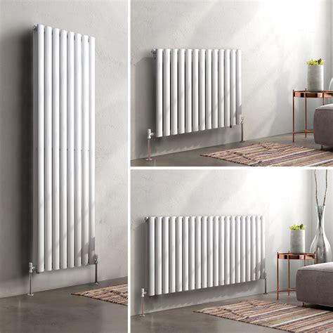Modern Bathroom Radiators Uk by Horizontal Vertical Designer Oval Column Panel Bathroom