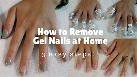 how to remove gel nails safely at home tag how