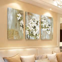home interior sconces home decor wall painting flower canvas painting cuadros
