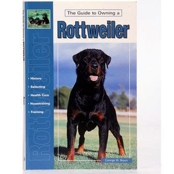 owning a rottweiler the guide to owning a rottweiler elite k 9