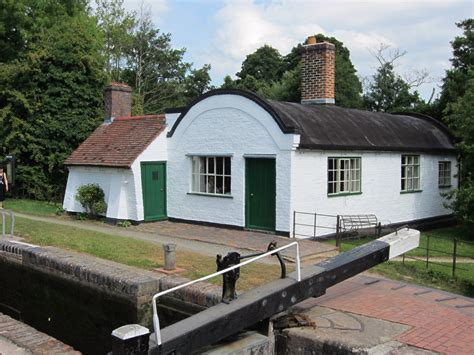 lock keeper s cottage at lowsonford our warwickshire