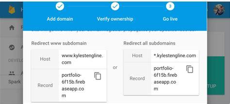 firebase custom domain  stack overflow