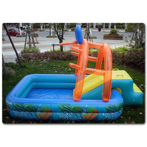 2016 swimming pool water slide outdoor toys