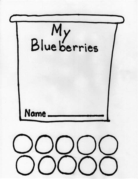 Blueberries For Sal Coloring Page free coloring pages of blueberries for sal