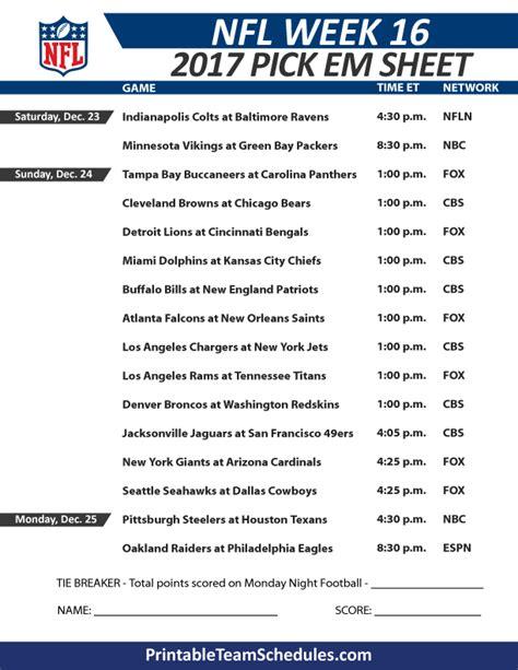 weekly football pool template 2014 ncaa football week to week schedule printable