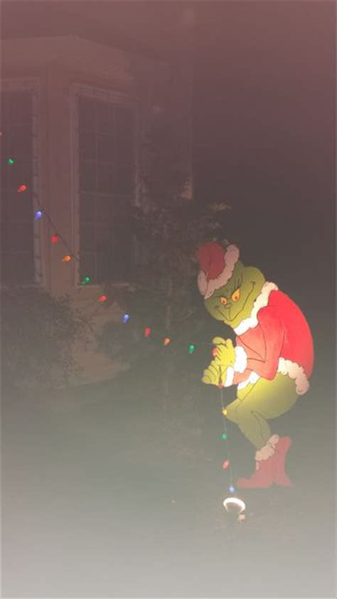 the grinch stole my christmas lights