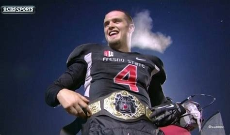 derek carr tattoo derek carr puts on chion wrestler belt after win