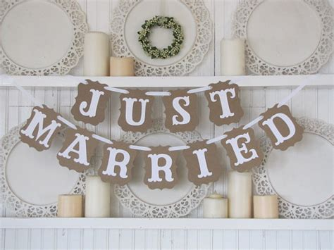 Wedding Banner Etsy by Just Married Wedding Banner By Paramoreartworks On Etsy