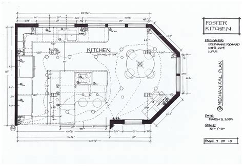mechanical floor plan foster kitchen design mechanical plan intr 224