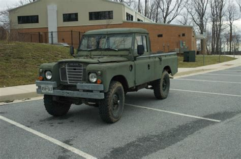 land rover series 3 109 land rover series iii pickup military ffr 109 quot wheelbase