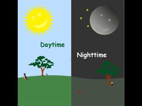 english talking book daytime and nighttime youtube