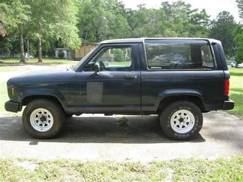 how does cars work 1984 ford bronco ii electronic valve timing purchase used 1984 ford bronco ii base sport utility 2 door 2 8l 171 cu in v6 in tallahassee