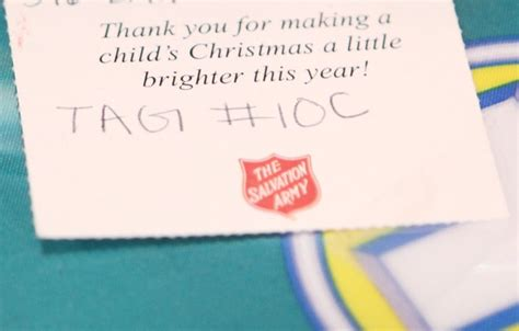 Salvation Army Gift Cards - images from the salvation army s christmas toy shop event