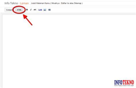 tips membuat yel yel keren cara membuat sitemap daftar isi blogger yang keren