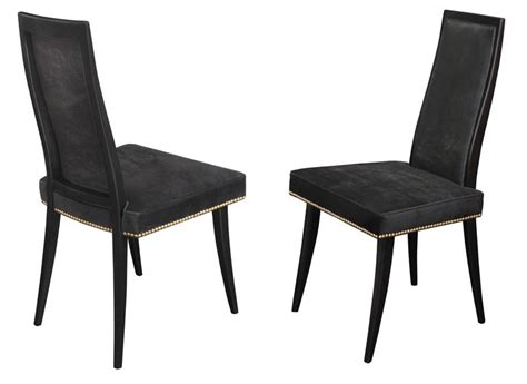 set of 10 quot classic quot dining chairs by harvey probber at 1stdibs set of eight quot classic quot dining chairs by harvey probber at