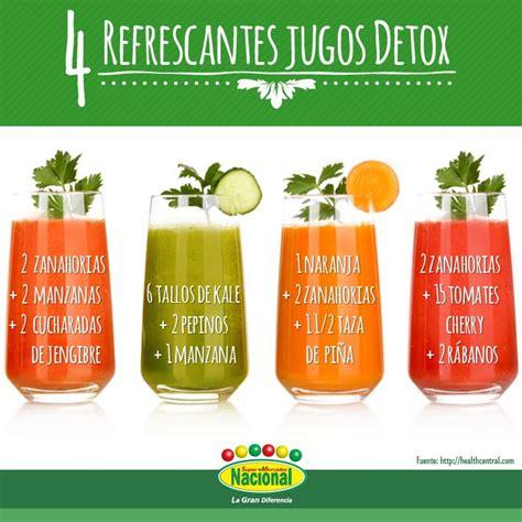 Jugos Detox by 4 Refrescantes Jugos Detox Infograf 237 As