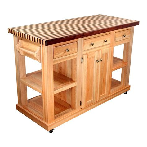 small butcher block kitchen island dining room portable kitchen islands breakfast bar on