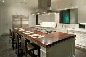 kitchen island with stove top center island with stove top and seating gutted kitchen pinterest butcher blocks white