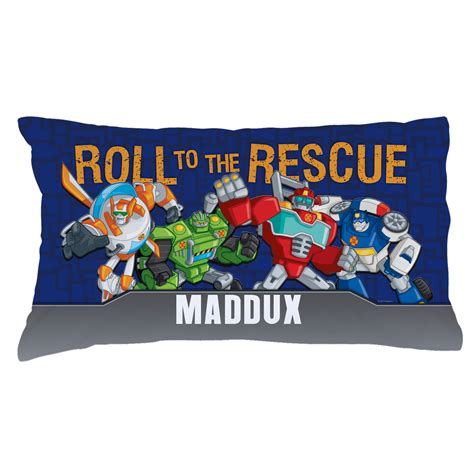 rescue bots bedding transformers rescue bots pillowcase tv s toy box